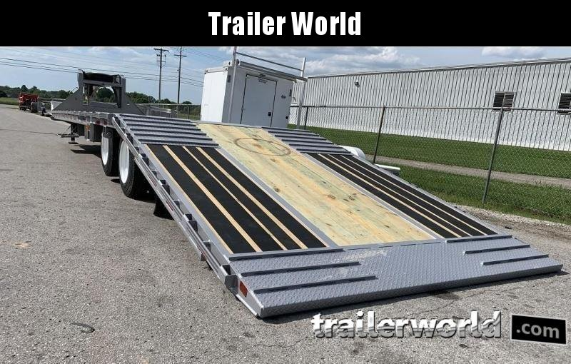 2020 Diamond C FMAX212 44' Hydraulic Dovetail HOT SHOT Trailer