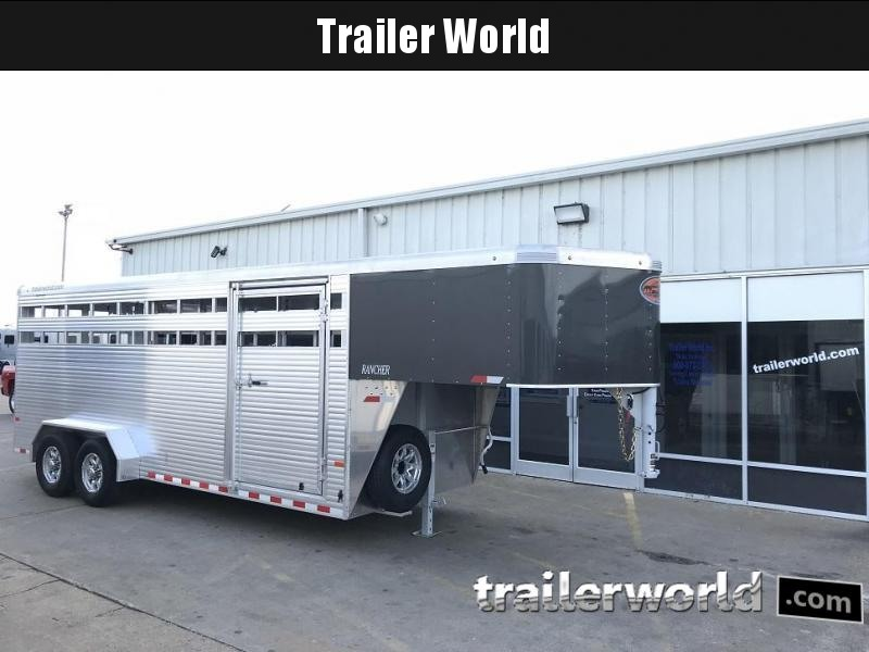 Clearance Clearance 16600Net Net 2019 Sundowner Trailers 20' Rancher 7' Tall Stock Trailer