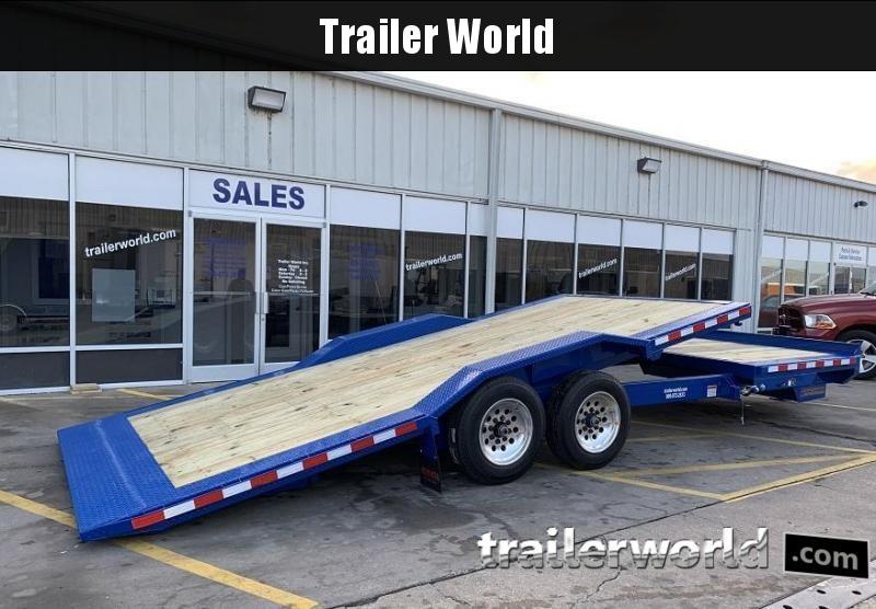 2021 Midsota TBWB-24' Wide Body Split Deck Tilt Equipment Trailer