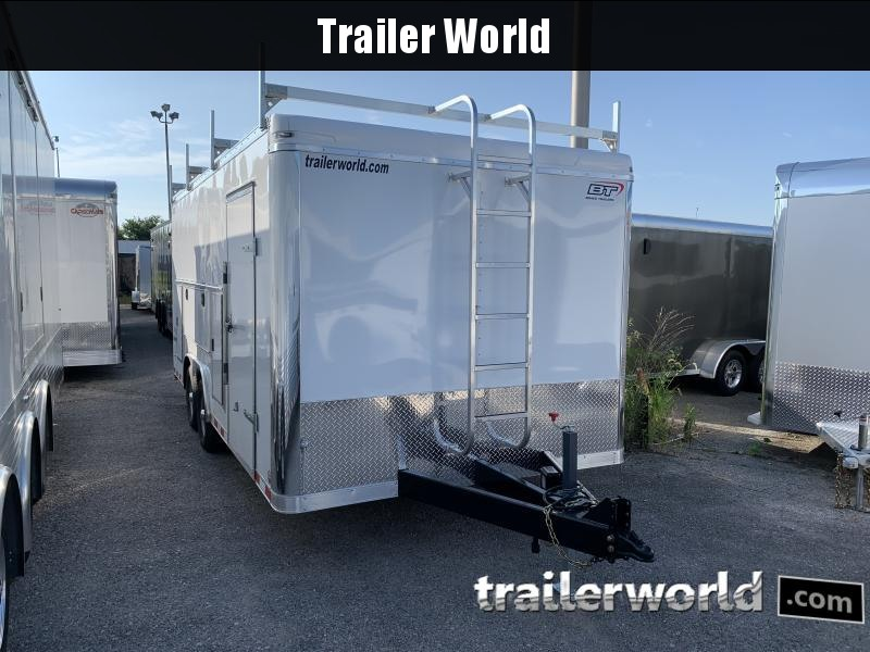 2021 BRAVO STAR 8.5x18 PRO SERIES CONTRACTOR TRAILER