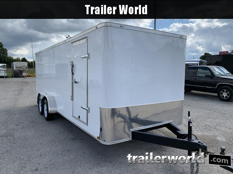 2021 Lark 7' x 20' TA Conventional Front w/Radiused Corners Enclosed Cargo Trailer