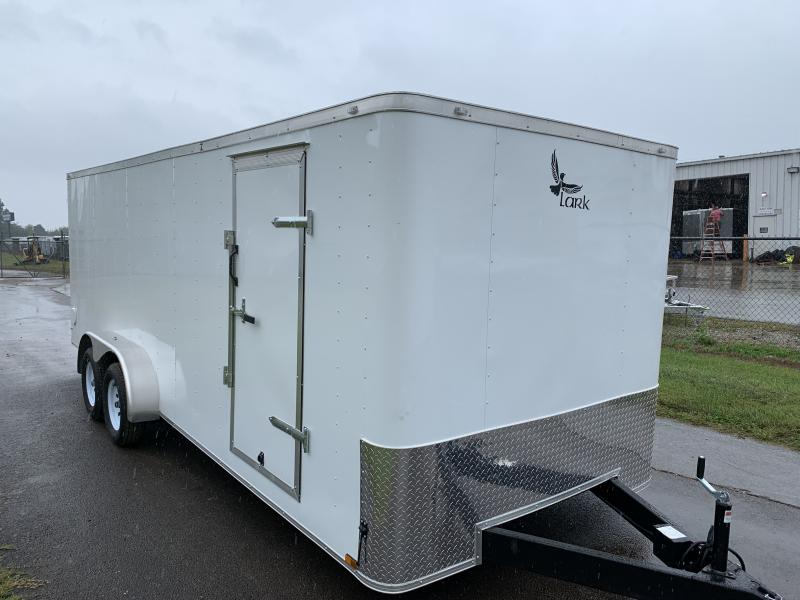 2021 Lark 7x20TA FLAT NOSE Enclosed Cargo Trailer