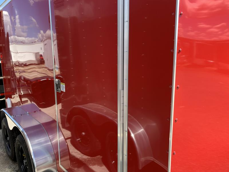 2022 Covered Wagon Trailers 7' X 12' Enclosed Cargo Trailer