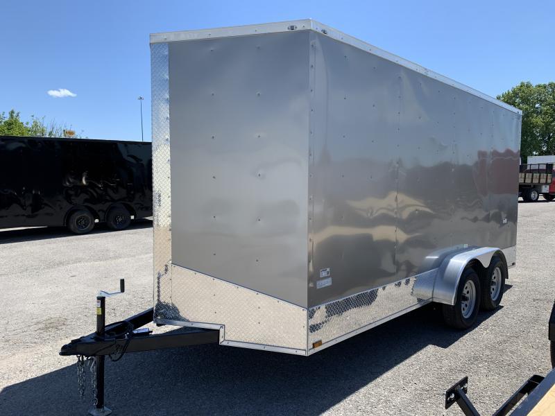 2021 25729 7 x 16'TA Enclosed Cargo Trailer