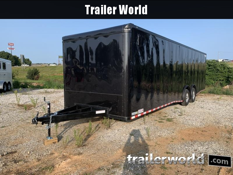 2021 Covered Wagon Trailers 8.5X30TA Car / Racing Trailer