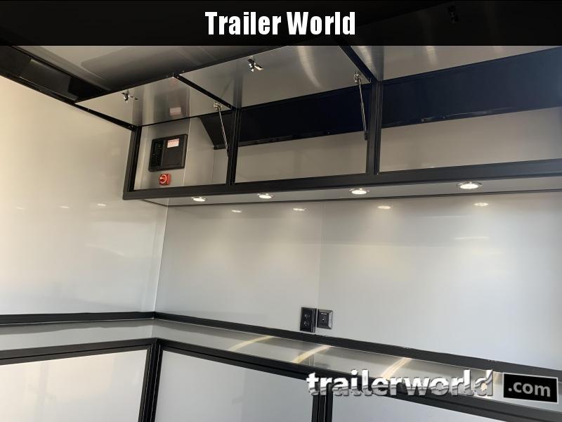 2020 Bravo Silver Star Aluminum 28' Race Trailer
