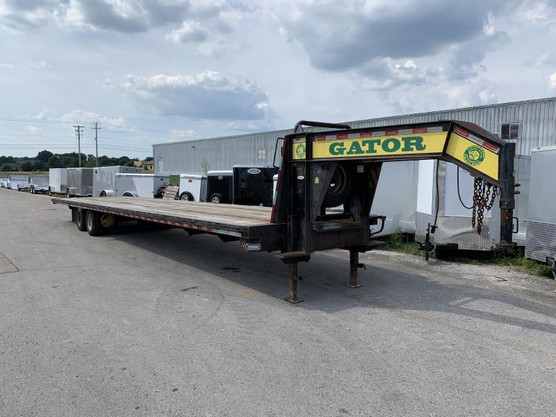 2014 Gatormade 40' Straight Deck Hot Shot Flatbed Trailer