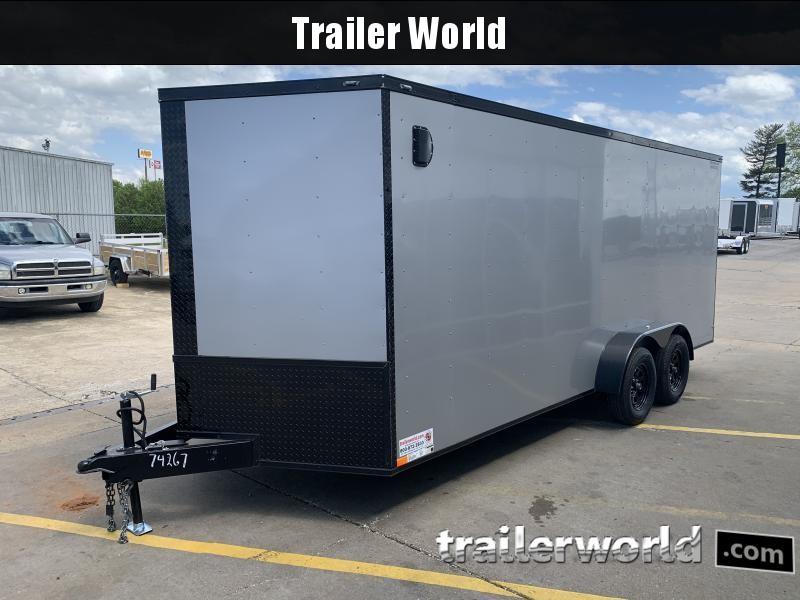 2021 74267 7 X 18'TA Enclosed Cargo Trailer