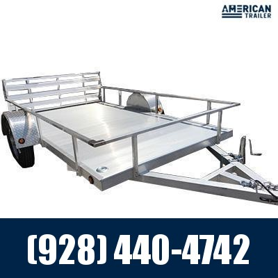 """2021 Primo 6x12 Utility Trailer with 12"""" side rails (2,990 GVWR)"""