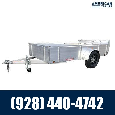 """2021 Primo 6x10 Utility Trailer with 18"""" High Solid Side (2,990 GVWR)"""