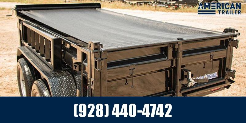 2021 Load Trail 5x10 Low Profile Dump Trailer with Scissor Lift (7,000 GVWR)