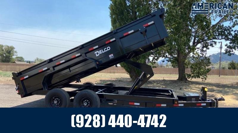 "2021 Delco Dump Trailer/7,000 GVWR/60""x10'"