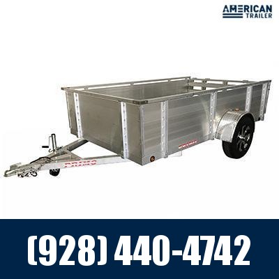 """2021 Primo 6x10 Utility Trailer with 24"""" High Solid Sides (2,990 GVWR)"""