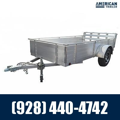 """2021 Primo 5x10 Utility Trailer with 24"""" Extra High Sides (2,000 GVWR)"""
