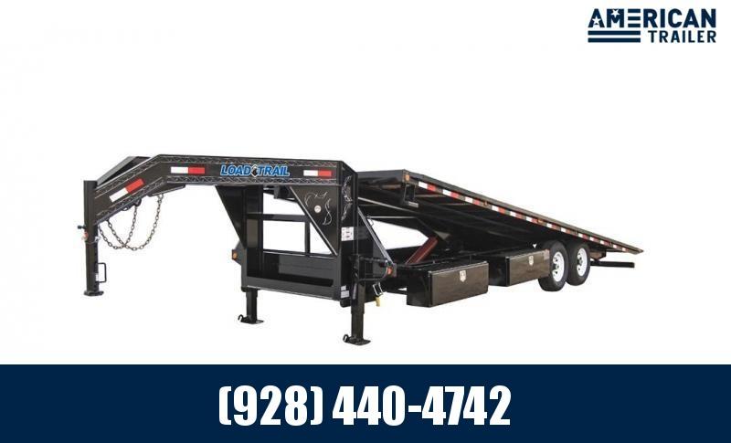"""2022 Load Trail Tilt-N-Go Gooseneck Tandem Axle/14,000 GVWR/83""""x24'"""