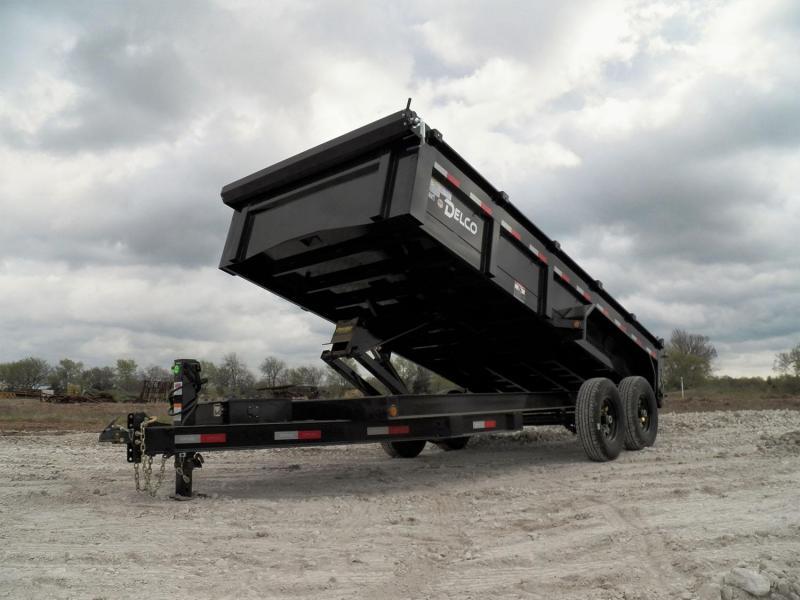 2021 Delco Tandem Axle Dumper 14' (14,000 GVWR)