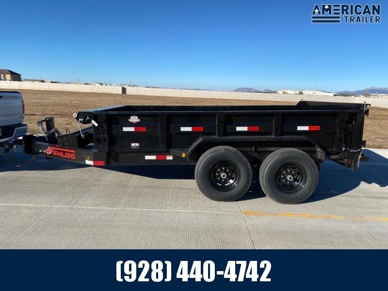 2021 ED Trailer Mfg Tandem Axle Dumper 14' (14,000 GVWR)