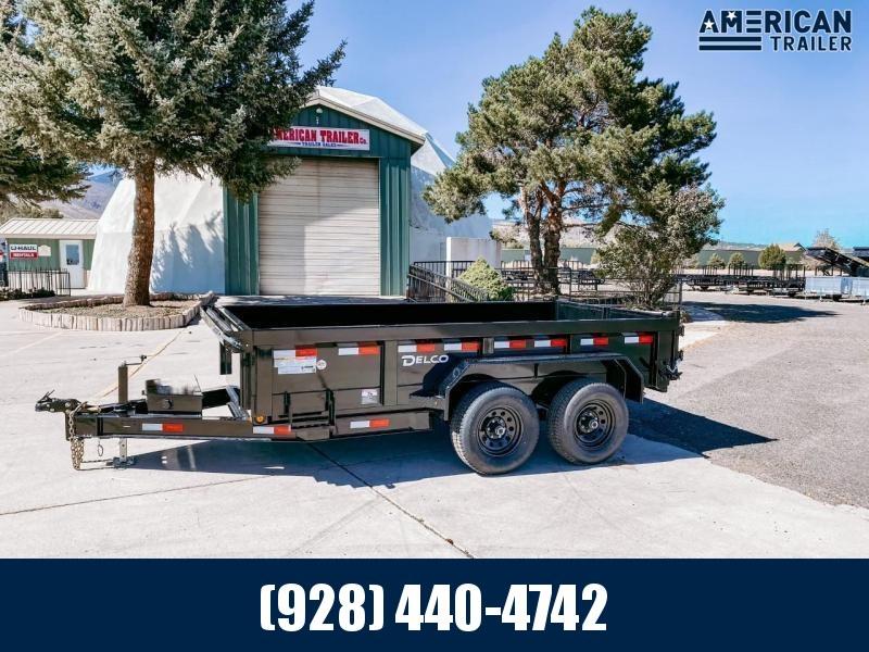 """2021 Delco Tandem Axle Dumper/12,000 GVWR/72""""x12'"""