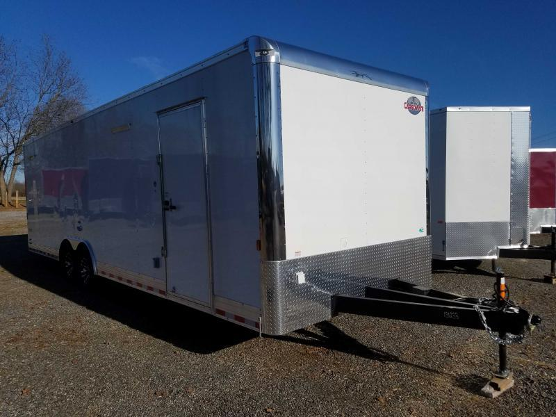 2021 Cargo Mate GAN8.5X28TA3 Car / Racing Trailer