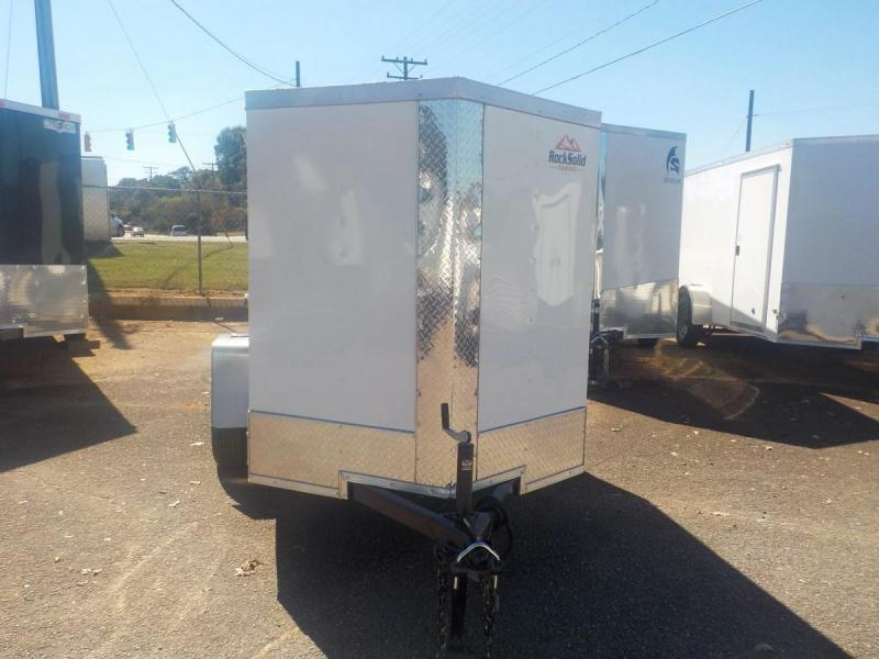 2021 Rock Solid Cargo RS5X8SA Enclosed Cargo Trailer