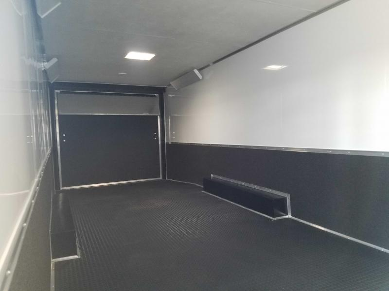 2021 Cargo Mate GAN8.5X28TA3 Car / Racing Trailer