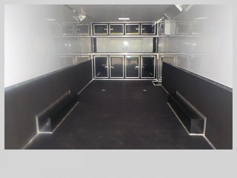 2021 Cargo Mate GANS8.528TA3 Car / Racing Trailer