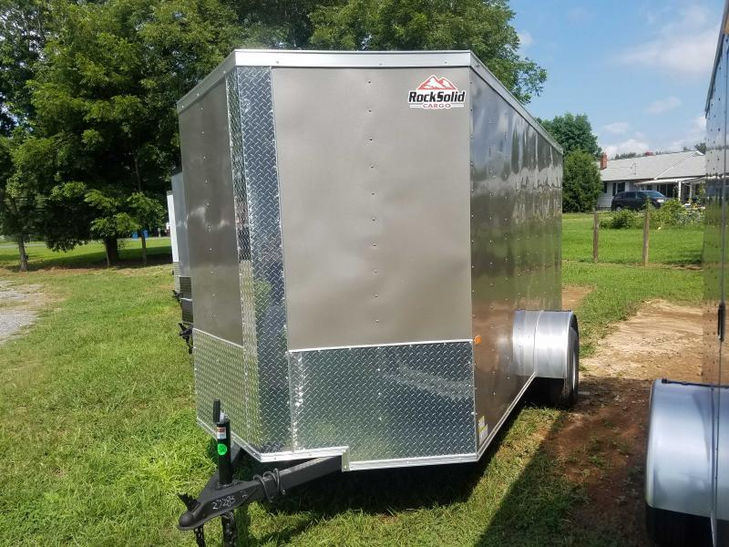 2021 Rock Solid Cargo RS6X12SA Enclosed Cargo Trailer