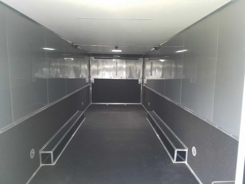 2021 Cargo Mate ELIMINATORSS8.5X34TT Car / Racing Trailer