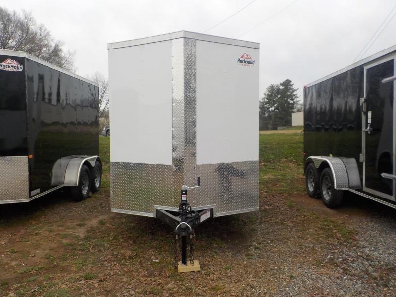 2022 Rock Solid Cargo RS6X12TA Enclosed Cargo Trailer