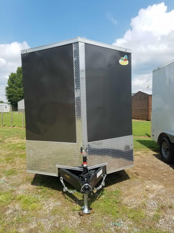 2021 Covered Wagon Trailers CW7X16TA2 Enclosed Cargo Trailer