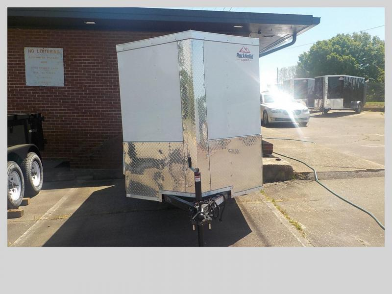 2019 Rock Solid Cargo RS5X10SA Enclosed Cargo Trailer