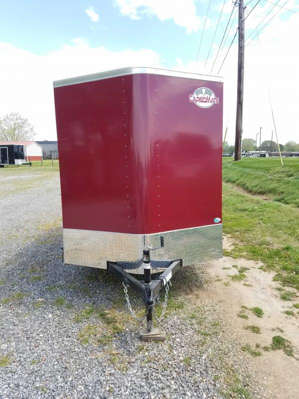 2022 Cargo Mate CM6X12SA Enclosed Cargo Trailer