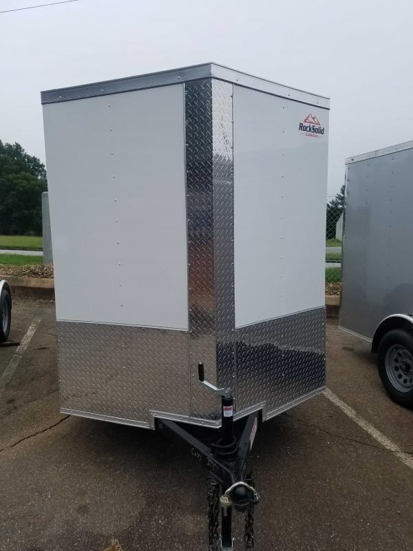 2021 Rock Solid Cargo RS6X10SA Enclosed Cargo Trailer