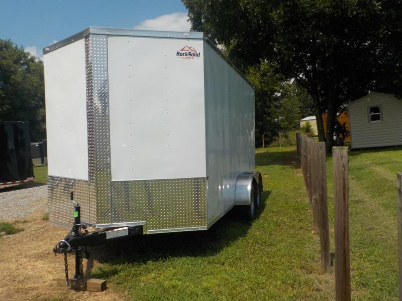 2021 Rock Solid Cargo RS7x14TA2 Enclosed Cargo Trailer