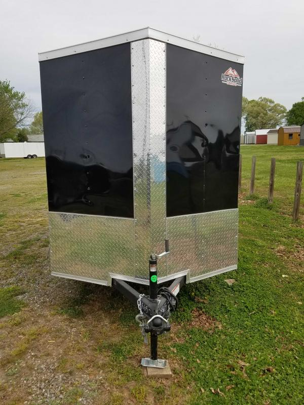 2021 Rock Solid Cargo RS6X10SA Enclosed Cargo Trailer