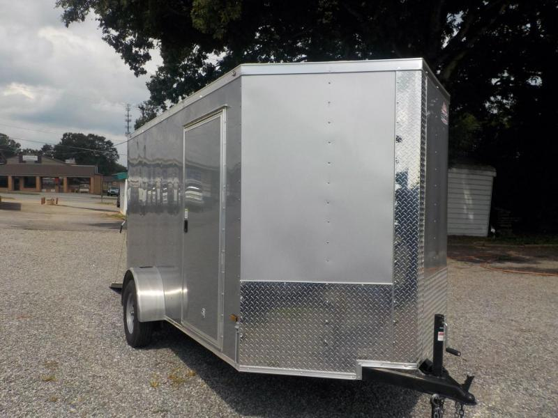 2021 Rock Solid Cargo RS 6 X 12SA Enclosed Cargo Trailer