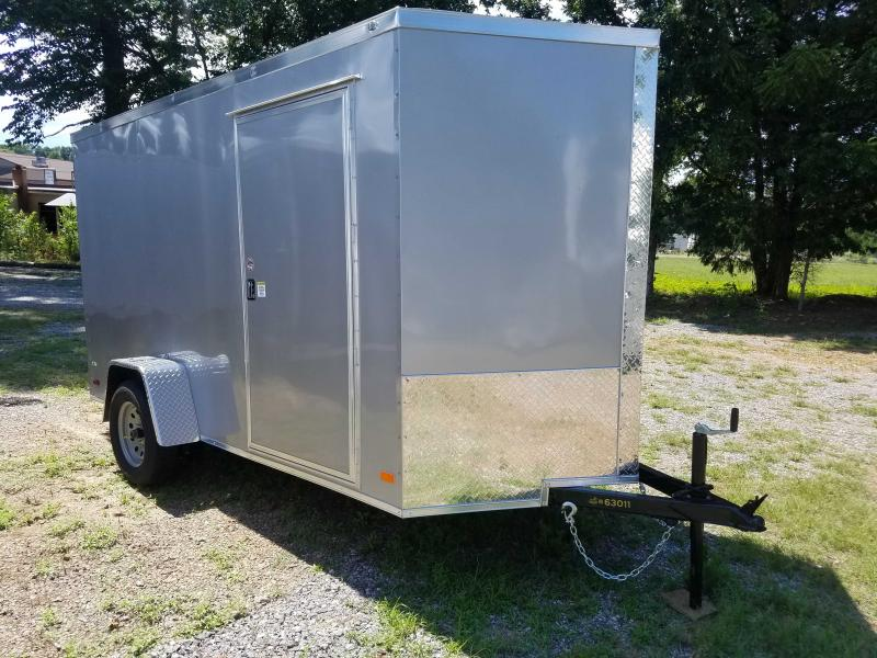 2021 Covered Wagon Trailers CW6X12SA Enclosed Cargo Trailer