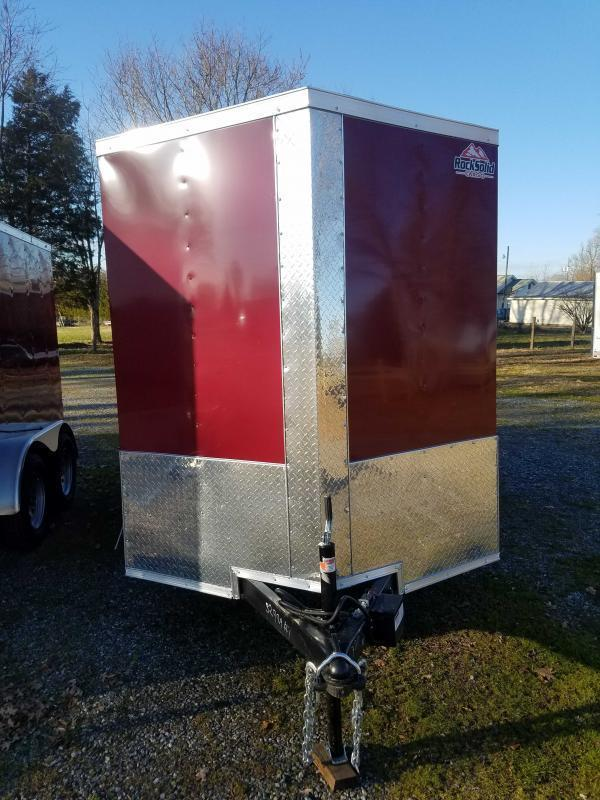 2021 Rock Solid Cargo RS6X12TA Enclosed Cargo Trailer