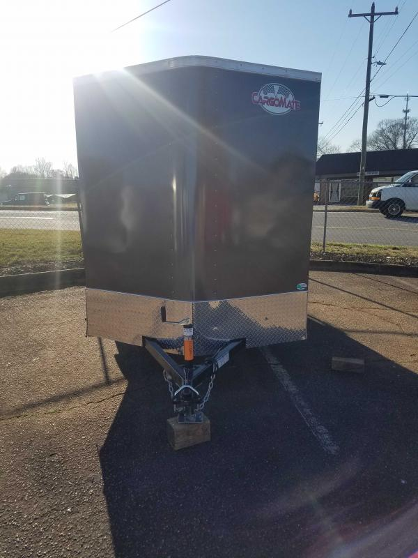 2021 Cargo Mate CM6X10SA Enclosed Cargo Trailer