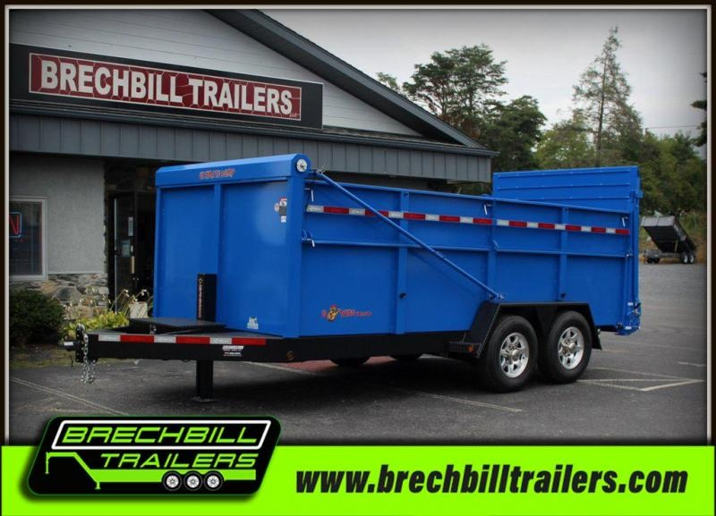 "Bwise Ultimate Dump Trailer 82""x16'x16K (DU16-15)"