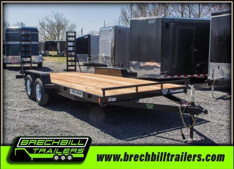 "Bri-Mar Equipment Trailer 84""x18'x10K (EH18-10ELE)"