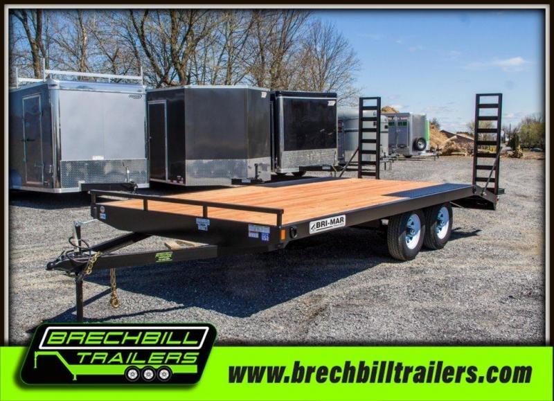 Bri-Mar (EH818-10LE) Equipment Trailer