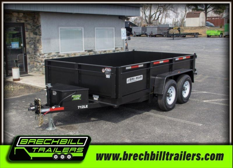 Bri-Mar (DT712LP-LE-12) Dump Trailer