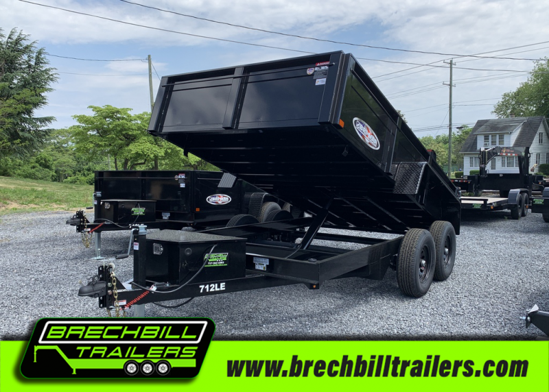 Bri-Mar DT712LP-LE-10 Dump Trailer