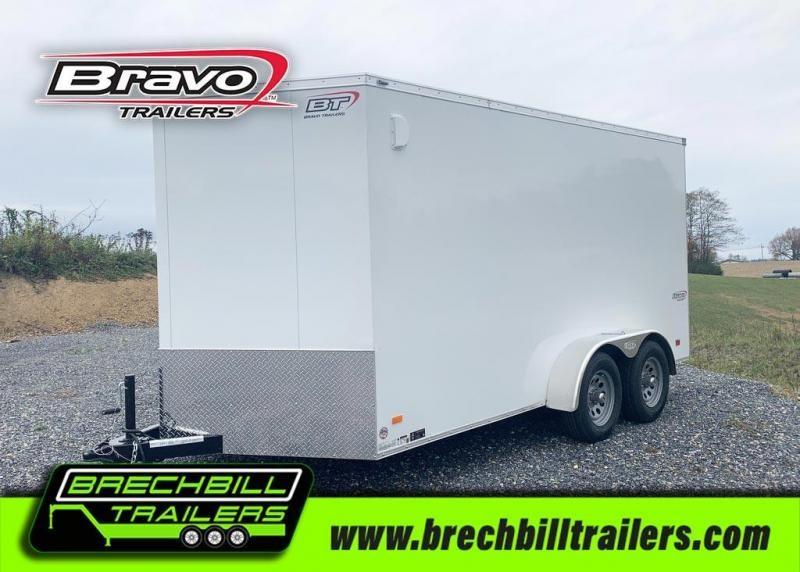 Bravo Scout Enclosed Cargo Trailer 7'x14'x7K (SC714TA2)