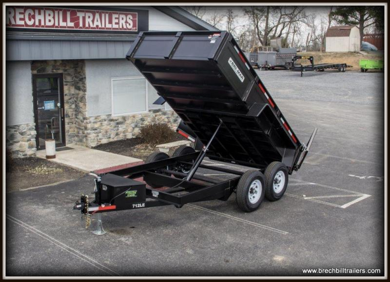 March Sale! - Bri-Mar (DT712LP-LE-12) Dump Trailer