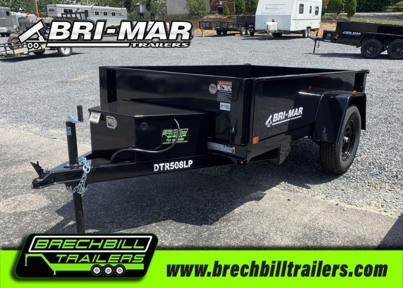 Bri-Mar Dump Trailer DTR508LP-3
