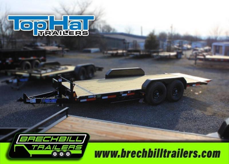 """TopHat Tilt Deck Shock Trailer 83""""x20'x14K (TDS20X83-14E-F)"""