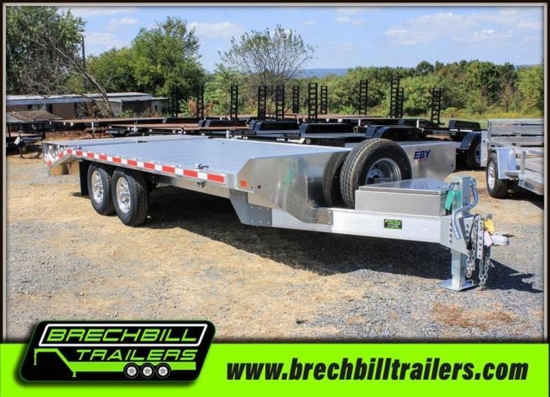 "EBY Deck-Over Equipment Trailer 20'x102""x14K (BH1EQP)"