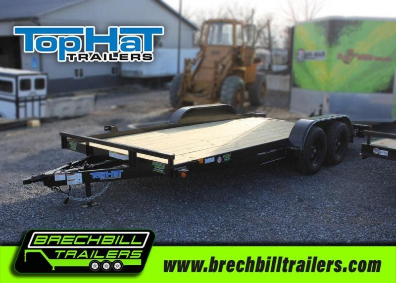 Top Hat Trailers CH16X83-7E-R Car / Racing Trailer